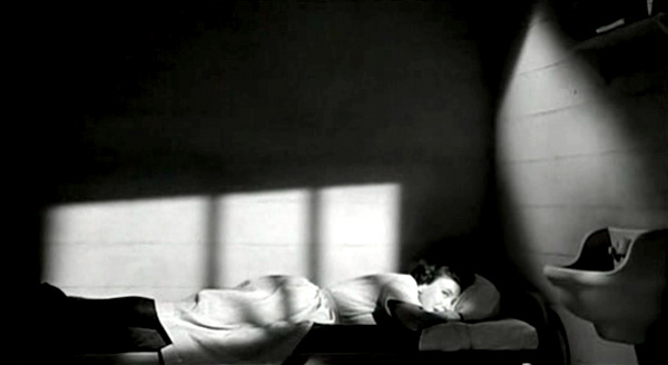 Still from John Cromwell's CAGED (1950)